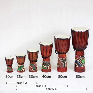 Djembe Drum 40cm Hand Painted